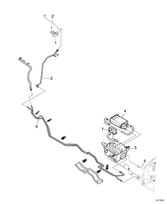 Топливная система туарег дизель схема