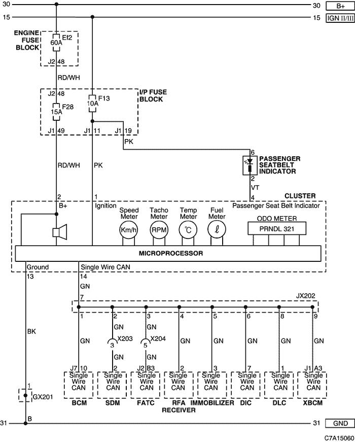Схемы цифровых комбинированных приборов