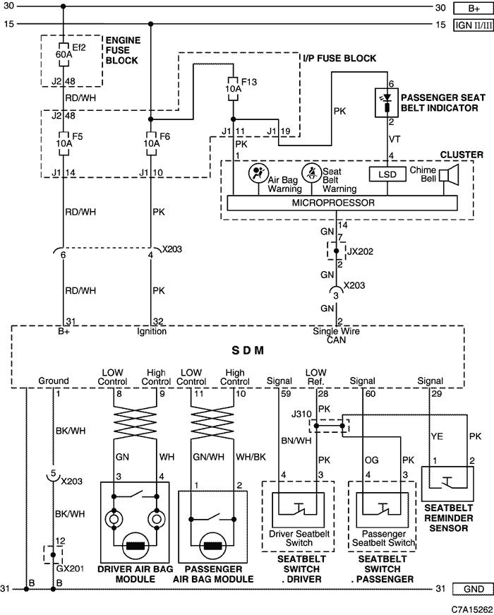 электрическая схема шевроле