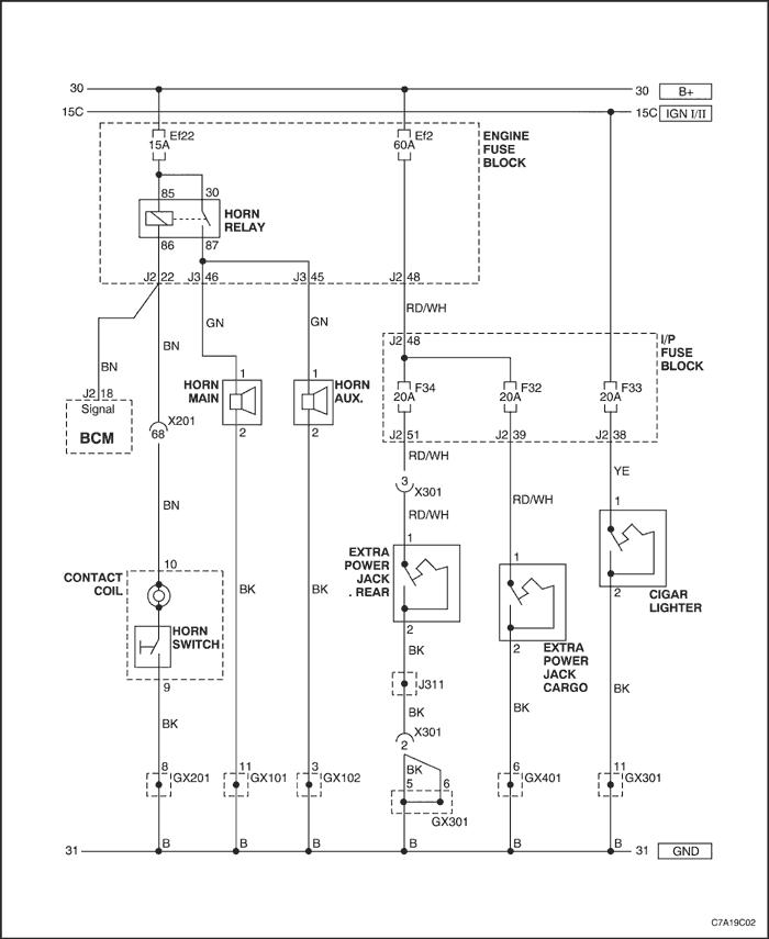 схема звукового сигнала.