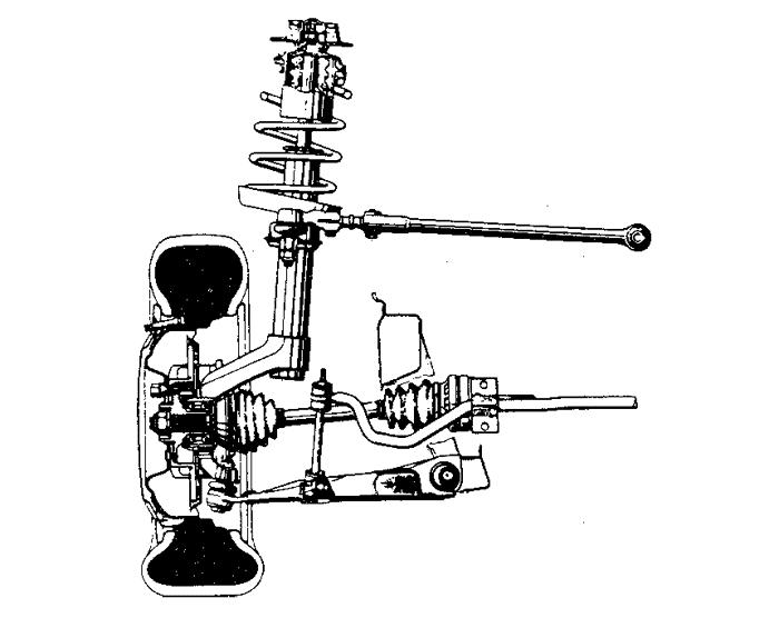 Схема передней подвески шевроле лачетти универсал 138